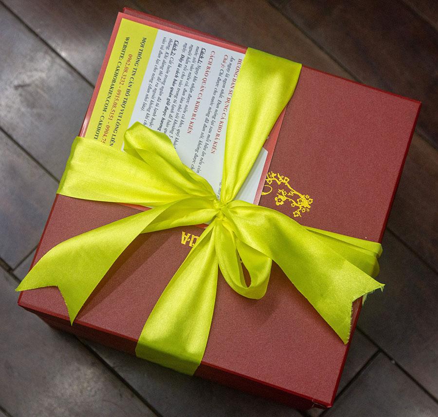 Cá kho Tiến Vua - sự lựa chọn hoàn hảo khi làm quà biếu